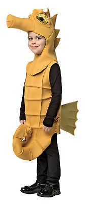 Seahorse Ocean Sea Animal Child Costume Poly Foam Tunic Halloween Rasta Imposta (Sea Animal Halloween Costumes)