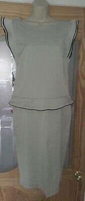 BNWT Smart Stone Stretch Bodycon Formal Dress Size UK12 Office
