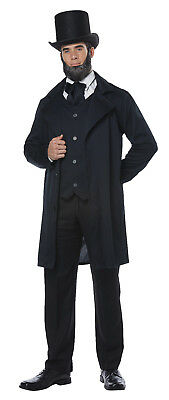 American President Abraham Lincoln / Frederick Douglas Colonial Adult Costume