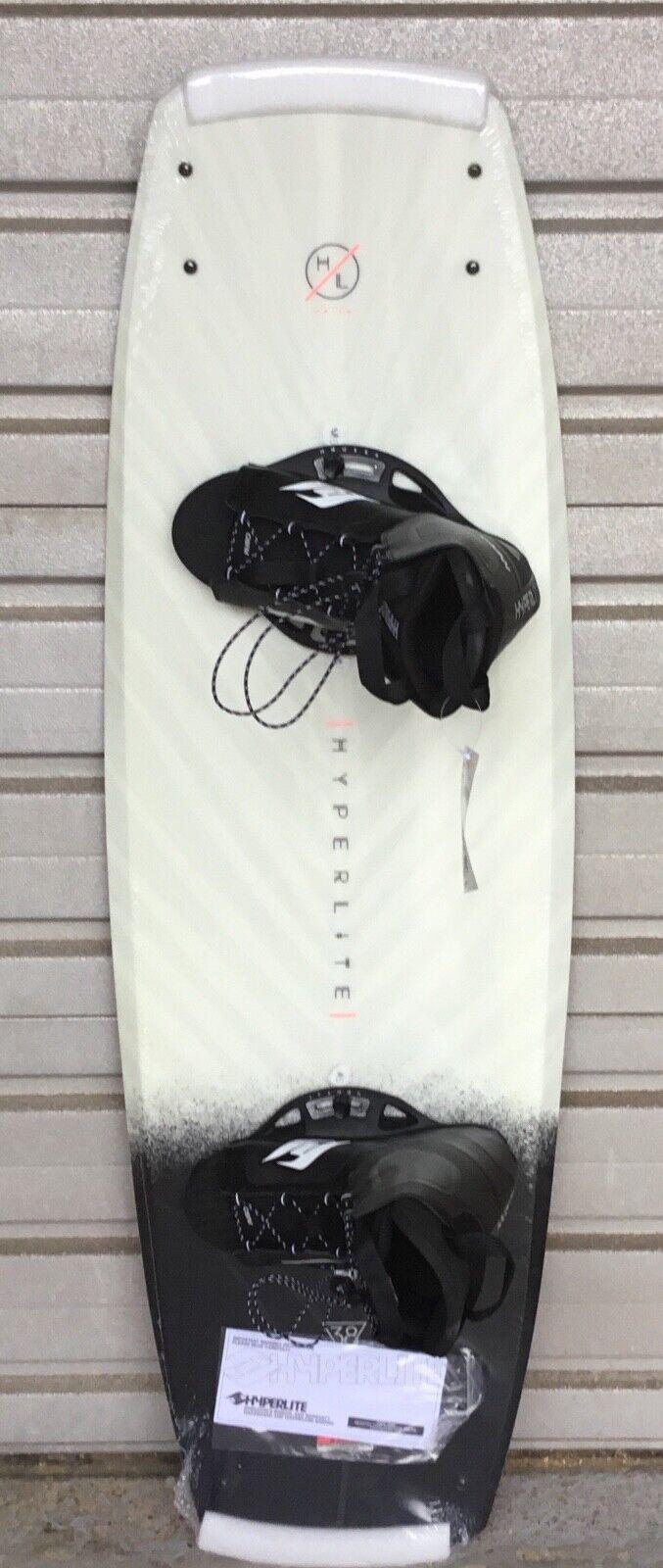 Neues Super Wakeboard Hyperlite Prizm 139 SET mit TOP Bindung , 4 x Slider Fins