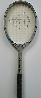 Used, RAQUETTE TENNIS DUNLOP VINTAGE McENROE AUTOGRAPH MID AVEC SA HOUSSE for sale  Shipping to South Africa