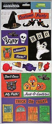 Costume Party Halloween Trick or Treat Creative Imaginations Cardstock Stickers ](Creative Halloween Costume)