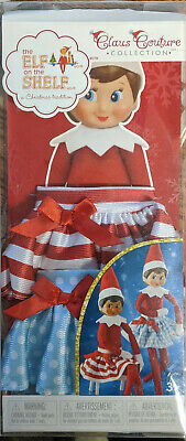 1x Elf on the Shelf Costumes Twirling in the Snow Skirts ~DMG PLASTIC BOX~