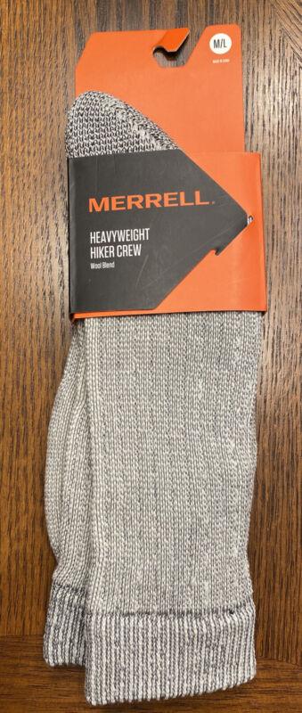 Merrell heavyweight hiker crew Wool Blend Socks Size M/L New With Tags