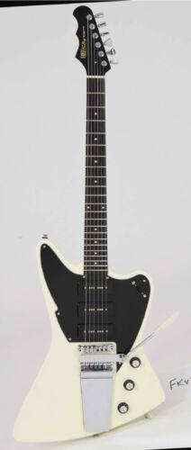 FRET King FKV73PVW Black Label Esprit III Electric Guitar - Vintage White Finish