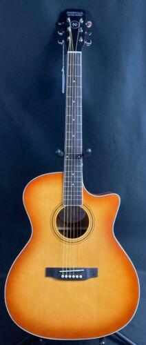 Nashville Guitar Works OM10CEEB Orchestra Cutaway Acoustic-Electric Guitar