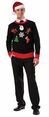 Adult Mens Womens Do It Yourself Ugly Christmas Sweater Kit  Standard Size