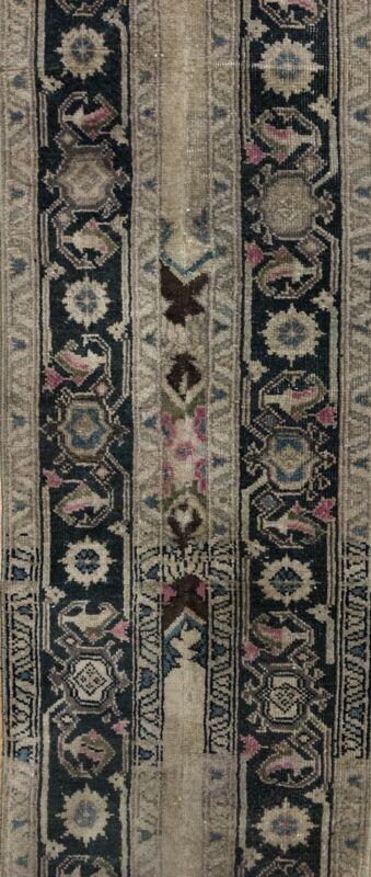 Opulent Oushak - 1940s Vintage Turkish Rug - Tribal Runner - 1.10 X 13.2 Ft.