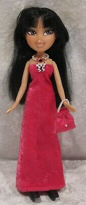 "Made to fit 9½"" BRATZ #14 Dress, Purse & Necklace Set, Handmade Doll Clothes"