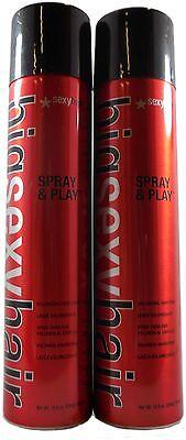 Sexy Hair - Big Sexy Spray & Play Hairspray 10oz [PACK OF 2]