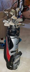 Powerbilt Golf clubs and Bag
