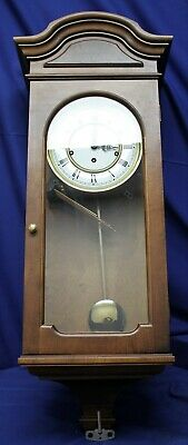 Howard Miller Triple Chime Key Wind Movement Wall Clock #612-581 Collection Key Wind Movement