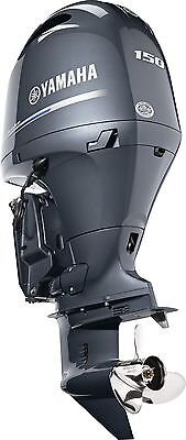 "New! model F150XB New Yamaha 150hp Outboard 4 Stroke Outboard 25"" shaft length"