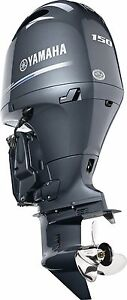 New! model F150XB New Yamaha 150hp Outboard 4 Stroke Outboard 25