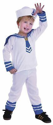 SALE! Kids Navy Sailor Captin Boy Uniform Boys Fancy Dress Costume Party - Sailor Boy Kostüm