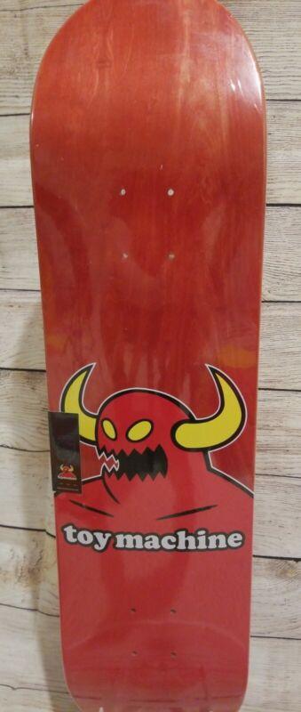 "Toy Machine Monster Skateboard Deck 8.0"" - FREE GRIP - New - In Shrink"