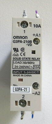 Omron Halbleiterrelais G3PA-210B-VD 10A - Solid State Relay 5-24V / 24-240VAC