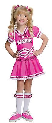 Boy Cheerleader Costume (Barbie Cheerleader Child Girls Costume Pink Fancy Dress With Boys)