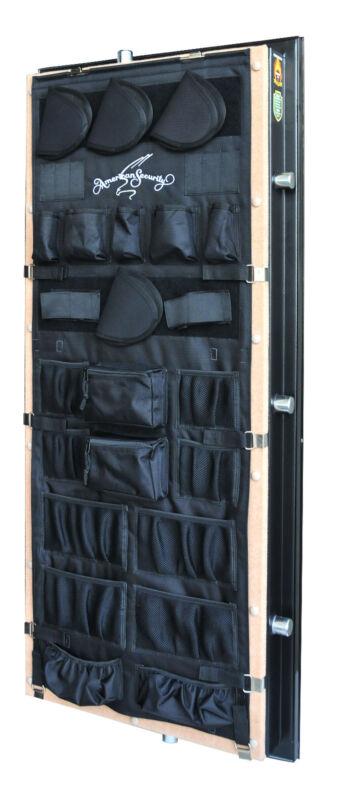 American Security Gun Safe Vault Door Panel Organizer Pistol Kit Model 19