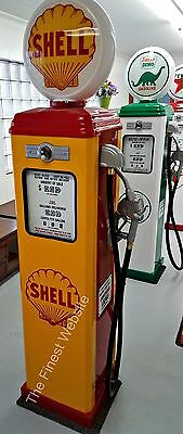 NEW SHEL  REPRODUCTION VINTAGE ANTIQUE REPLICA GAS PUMP - FREE SHIP*