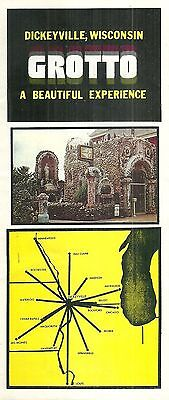 Vintage Brochure for Dickeyville Grotto in Wisconsin