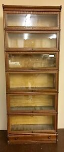 Stacking Barristers Bookcase - Oak