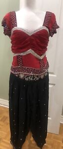 Red & Black Indian Suit