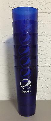 New (6) Pepsi Cola Restaurant Blue Globe Plastic Tumblers Cups 24oz Carlisle](Plastic Tumbler Cups)