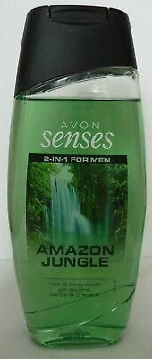 (100 ml = 2,00  €) Avon - Senses Amazon Jungle 2-in-1 Shampoo und Duschgel