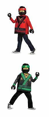 LEGO Ninjago Movie Kai, Lloyd Classic Fancy Dress Costume Small, Medium - Lloyd Lego Ninjago Kostüm