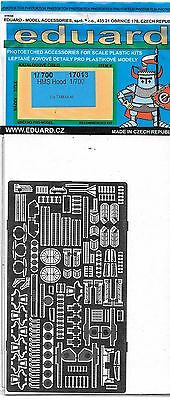 Eduard HMS Hood Photo Etch Details in 1/700 17013, For Tamiya Kit  ST