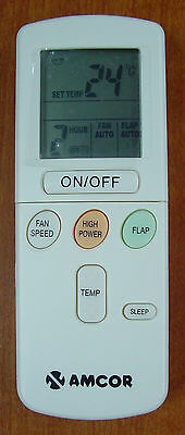 Amcor air condition remote control