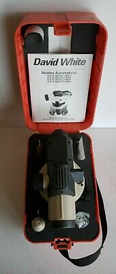 David White Al8-26 26x Power Automatic Optical Surveying Transit Level W Case
