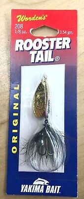 SUPER ROOSTERTAIL SRT192-SYLCD SHIMMER YELLOW COACHDOG  1//8oz 3.54g #8 DBLE HOOK