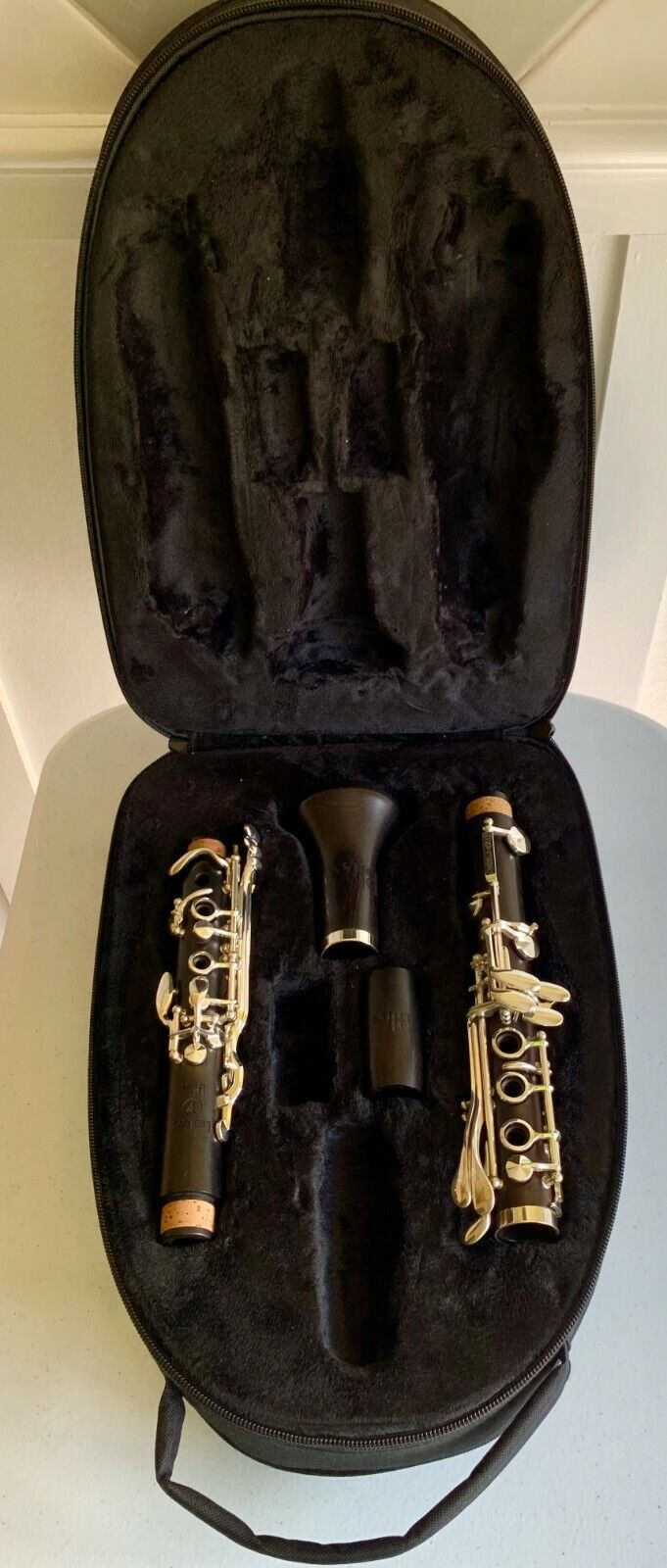 Bb Clarinet Leblanc Bliss Wood Silver Keys With Backpack Case - $325.00