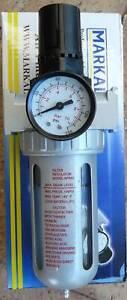 """Compressor Filter Regulator Gauge 1/4"""""""