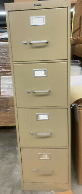 Hon 4-drawer Letter Size Metal Filing Cabinets--used  Local Pick Up Only