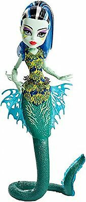 Monster High - Monster High Great Scarrier Reef Glowsome Ghoulfish Frankie Stein Doll
