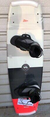 Neu TOP Hyperlite Franchise 142 Wakeboard SET m.Bindung Op.4 x Fins 1 A