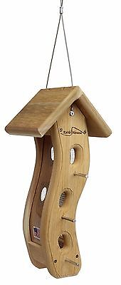 Kettle Moraine Small Wave Goldfinch Bird Feeder for Nyjer Thistle Seed #8110N