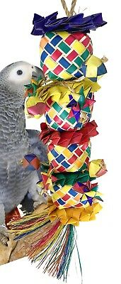 03338 Large Flower Tower Bird Toy Cage Toys Cages Parrot Chew Foraging Amazon