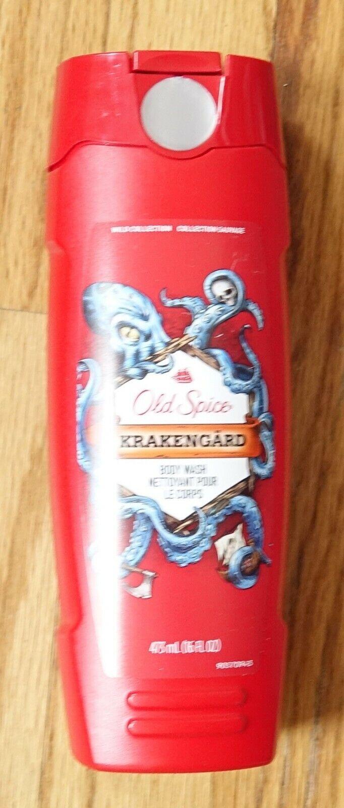 Old Spice Wild Collection Krakengard Body Wash, 16 fl oz