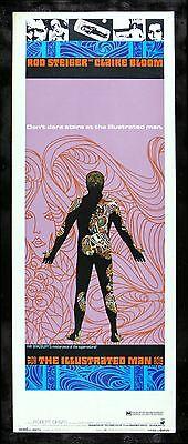 THE ILLUSTRATED MAN * CineMasterpieces ORIGINAL MOVIE POSTER 1969