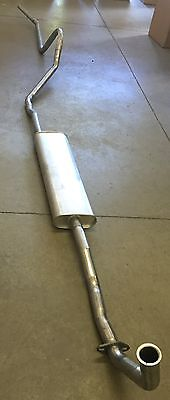 1953 PLYMOUTH SINGLE EXHAUST, ALUMINIZED, ALL MODELS