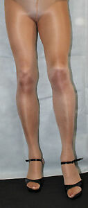 American Tan 80 Denier Hi Quality Medium Fabulous Shimmer Effect Tights