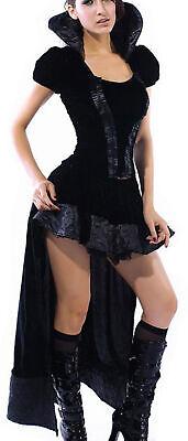 sexy Queen of Darknes Hexe Kostüm Höllenfürstin Steampunk - Sexy Steampunk Kostüme