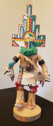 """15"""" tall Hopi Hemis Kachina by R.A. Smith circa 1970 ~Stunning"""