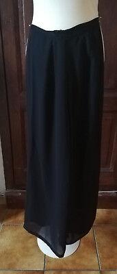 pantalon noir femme t 12 ans fluide