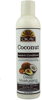 Okay Coconut Oil Deep Moisturizing Leave-in Conditioner 8 oz