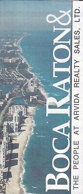1994 Map Of Boca Raton Florida - Arvida Realty Sales Boca Raton Florida Map